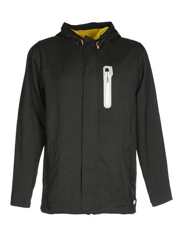 Adidas Black Hooded Jacket - L