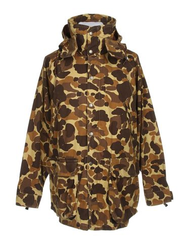 Brown & Green Camouflage Jacket - L