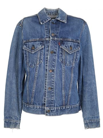 Vintage 1960s Levis Denim Trucker Jacket - S