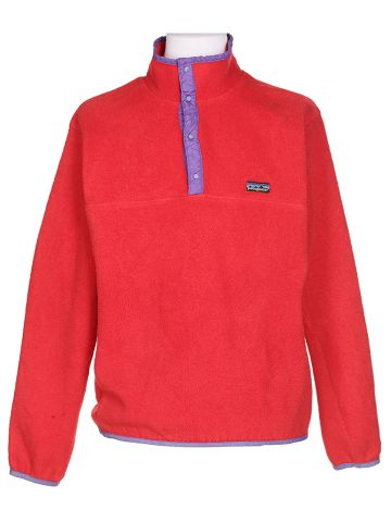Patagonia Red Fleece Jumper - L
