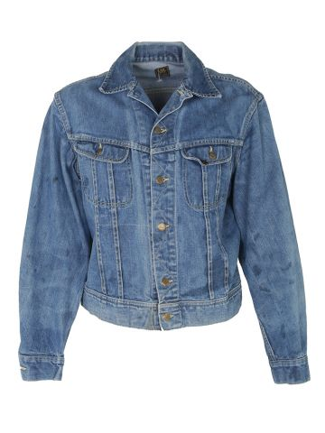 Vintage 70s Lee Riders 101-J Denim Jacket - L