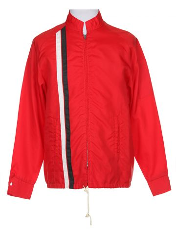 60s Avon Sports Red Sport Nylon Jacket - L