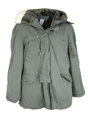90s US Air Force Parka Coat L in Dallas online store