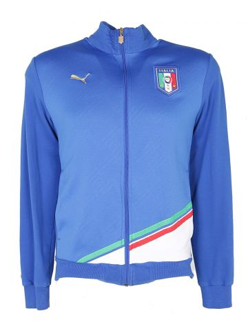 Blue Italy Puma Football Track Jacket - S