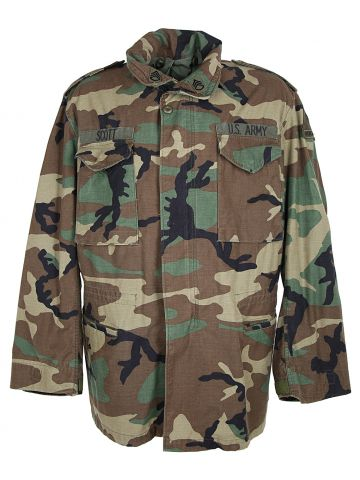1997 Woodland Camo Cold Weather Field Jacket -