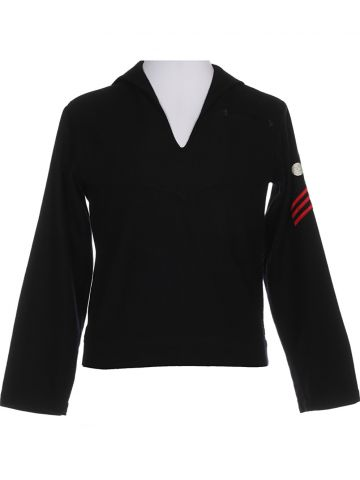 Black Wool Sailor Shirt