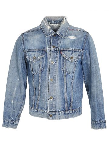 Vintage 60s Levi's Big E Well Worn Denim Jacket - S