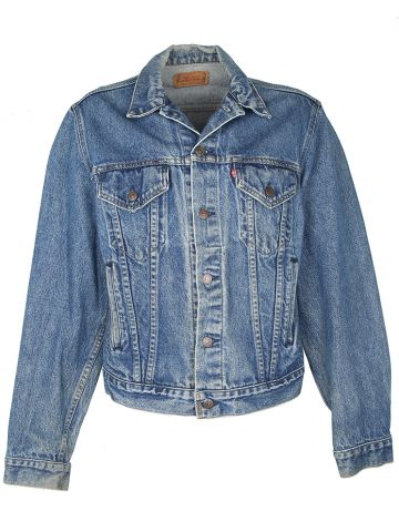 Vintage Levis 71506 Denim Trucker Jacket - L