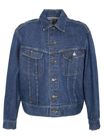 60s Lee Mid Blue Denim Jacket - L