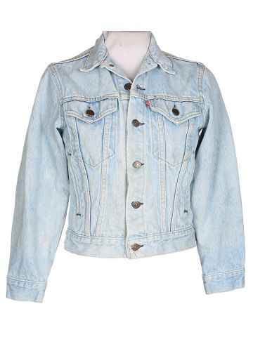 80's Levi's Blue Denim Jacket - S