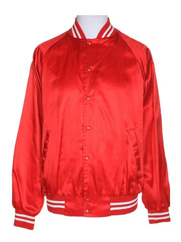 80s Red Coach Jacket - XL