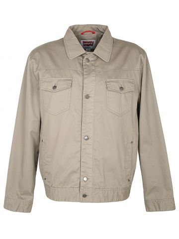 Levi's Khaki Shirt Jacket - XL