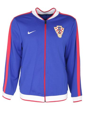90s Nike Croatian Football Track Jacket - L