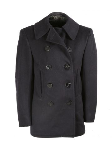 50s Korean War Spec USN Peacoat - S