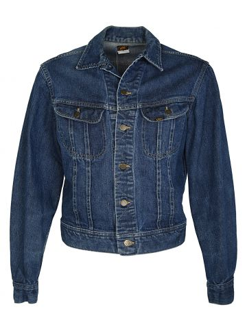 Blue 90s Lee 153438 Denim Jacket - M