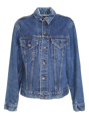Vintage 1960s Big E Levis Denim Trucker Jacket - S