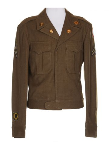 WWII Military Battle Jacket - S
