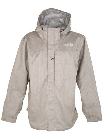 The North Face Beige Rain Jacket - XL