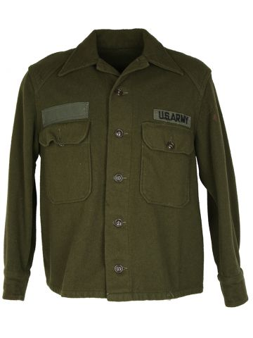 US Army Wool OG Shirt - M