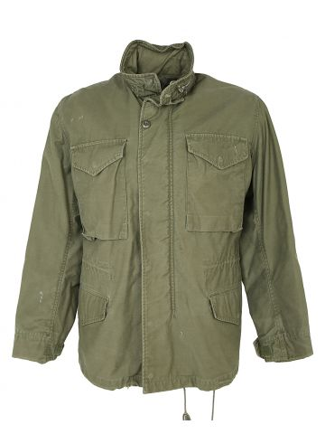 1978 Olive Green M-65 Jacket - S