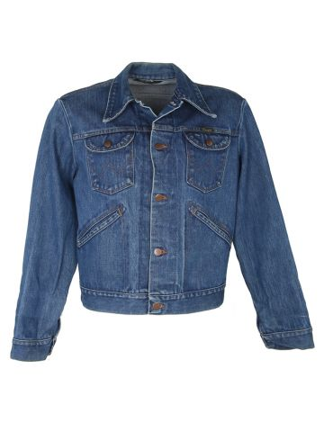 Vintage 70's Wrangler Denim Jacket - L