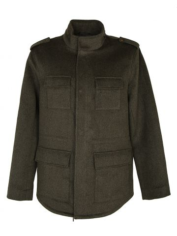 LE31 Military Style Jacket - L