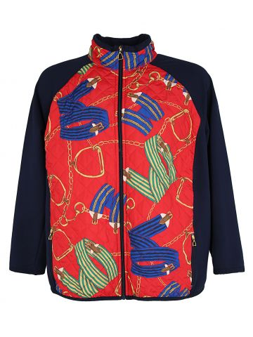 Ralph Lauren Active Quilted Equestrian Zip Up Jacket - XL