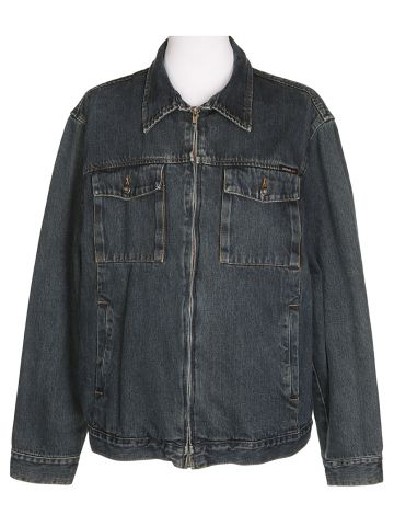 Vans Dark Blue Denim Jacket - M