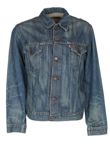 Vintage 1967 Levis Big E 557XXX  Denim Trucker Jacket - XL