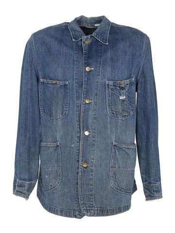 Vintage 70's Lee Denim Barn Jacket - L