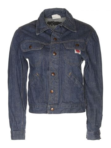 Vintage 60s GWG Blue Denim Jacket - S