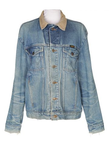 80's Wrangler Blue Denim Jacket - L