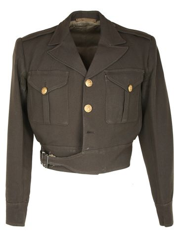 Late 50s Post WWII US Army 'IKE' Jacket - S