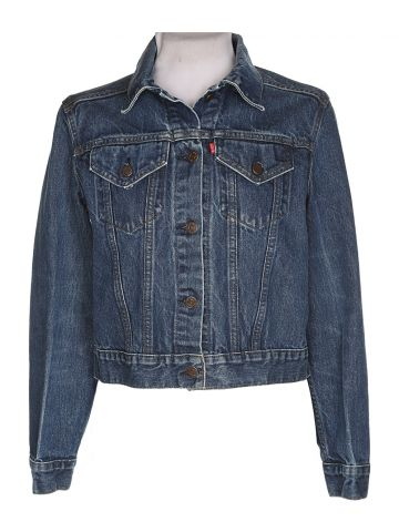 Levi's Blue Denim Jacket - L