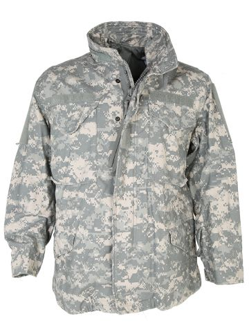US Army UCP Digital Print M-65 Jacket - M