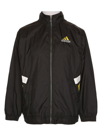 90s Adidas Black Sports Jacket - XL