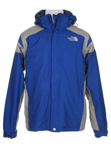 The North Face  HyVent Blue Waterproof Jacket - M