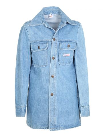 Vintage 70s Blue GWG Scrubbies Denim Jacket - S