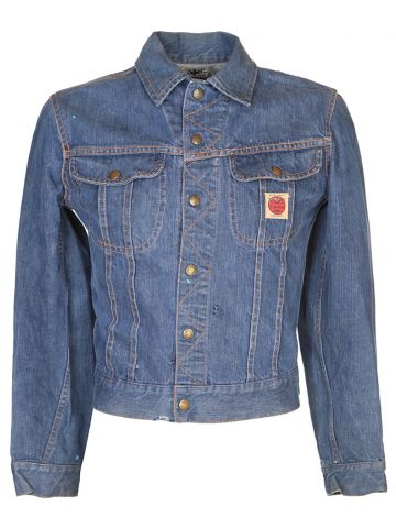 50's Blue Denim Jacket - S