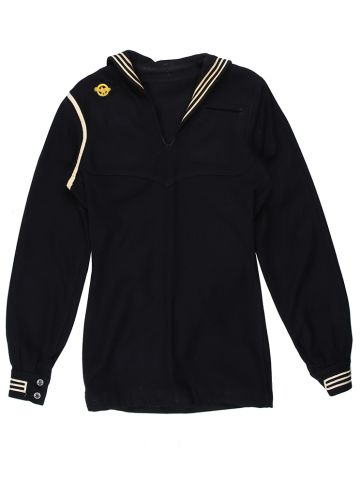 1940s Navy Sailors CrackerJack Top - S