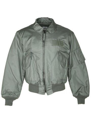 90s US Air Force CWU Military Flying Jacket - L