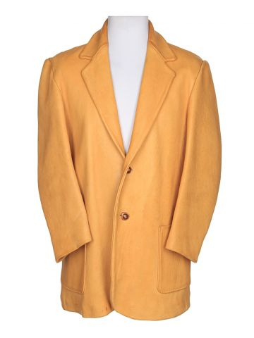 60s Tan Deer Skin Leather Jacket - L