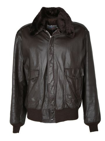 80s Leather Excelled G-1 Leather Flight Jacket - XL