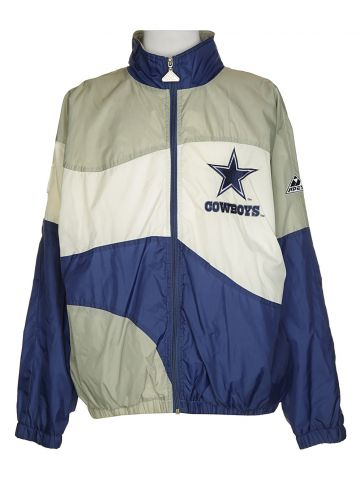 90s NFL Cowboys Coach Jacket - M