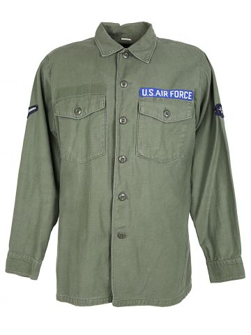 US Air Force 70s OG Utility Shirt - L