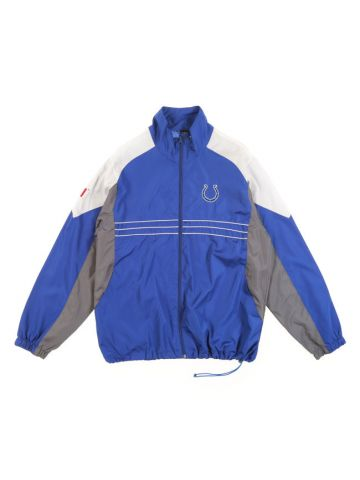 Reebok NFL Indianapolis Colts Blue Track Windbreaker Jacket - L