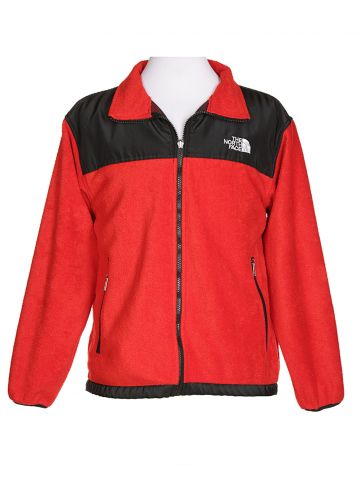 North Face Red Fleece Jacket - S