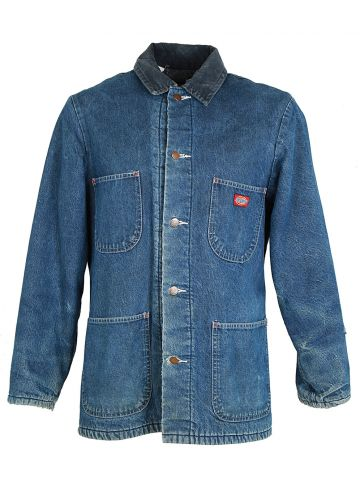 Dickies Blue Denim Jacket - M