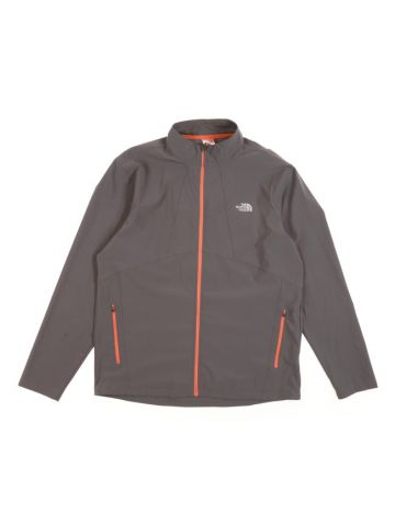North Face Grey Track Jacket - L