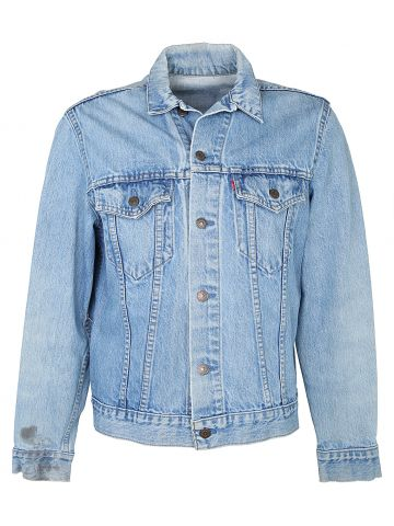 1970s Blue Levi Denim Trucker Jacket  - M